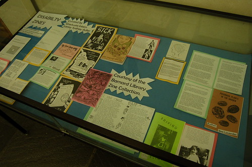 Disability Zines Exhibit | by Barnard Library Zine Collection