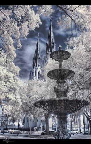 Lafayette Square Fountain   HDR-IR | by Theaterwiz