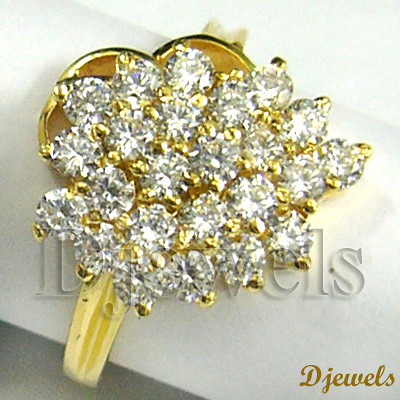 Gold Diamond Engagement Ring Djewelsdotorg is Indias on Flickr