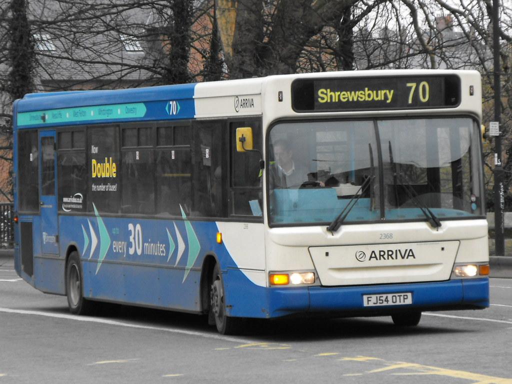 ... Arriva Midlands North 2368 FJ54OTP | by Alan Sansbury