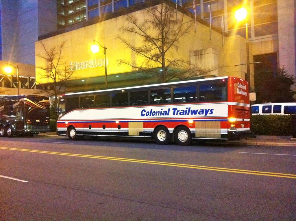 Colonial Trailways 95588 Van Hool