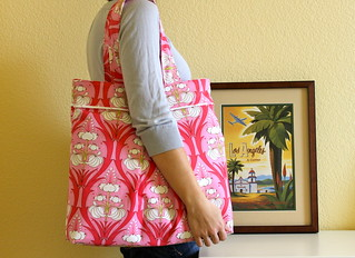 Amy Travel Bag | by Hands Full Creations