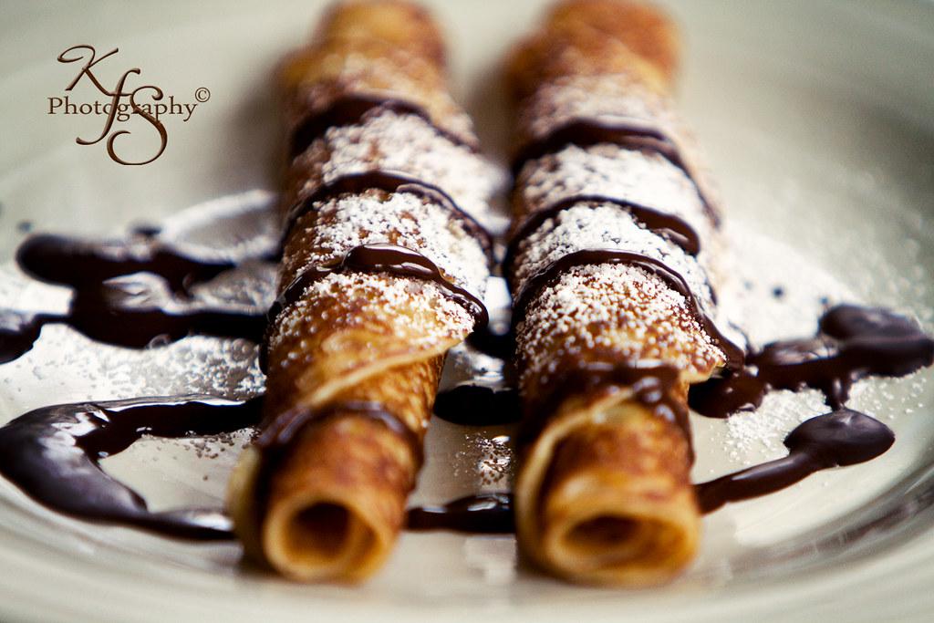 Mardi Gras!!! Les Crêpes au chocolat !! | Chcolate and powde… | Flickr