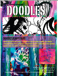 creative doodles sample pdf workbook page | by treiCdesigns