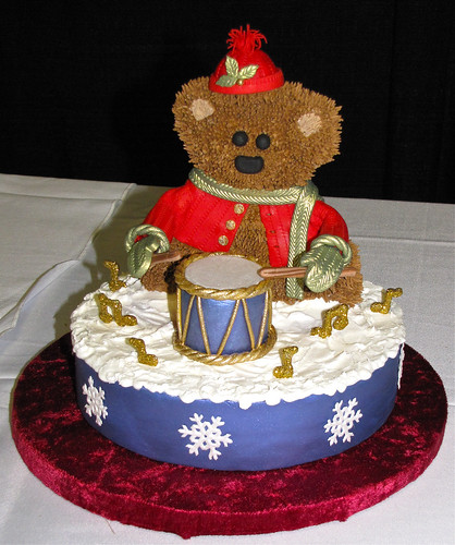 Drummin' Bear by Tracy Dahir | by Dork-Chocolate