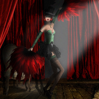 Angel of the Month - Cabaret - Irina Strazytski | by Nim (Irina Strazytski)