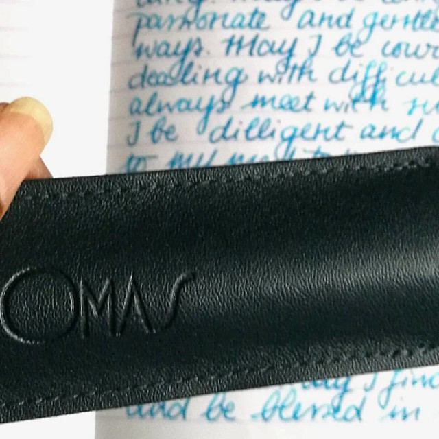 Preparing some posts for my #pensandink section on my blog. A real beauty coming up soon. #omasfountainpen #omas #fountainpen #mindfulwriting #writtenmeditation #journal #lovingkindness #turquoise #fpgeeks #fpn #fountainpennetwork