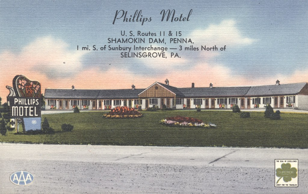Phillips Motel - Shamokin Dam, Pennsylania