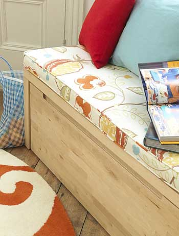 ... NORREBO Storage Bench Cushion | By Heath U0026 The B.L.T. Boys