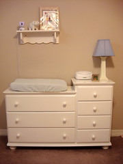 Rumble Tuff White Dresser Changing Table Combo | By Baby Chick Designs ...