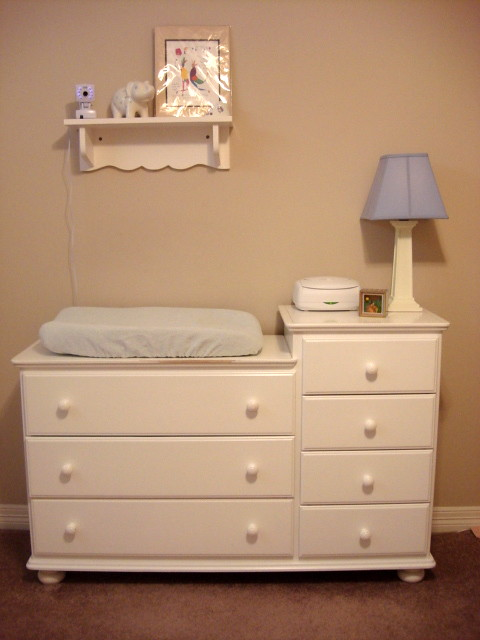 ... Rumble Tuff White Dresser Changing Table Combo | By Baby Chick Designs
