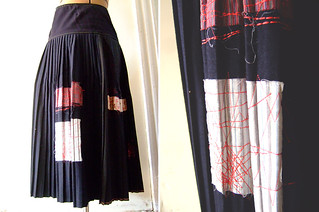 Patchwork Skirt | by annekata