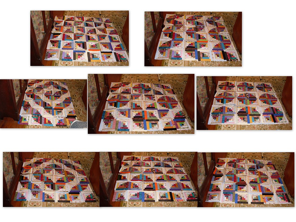 Curved Log Cabin Layouts | Speaking of layout possibilities!… | Flickr : curved log cabin quilt block - Adamdwight.com