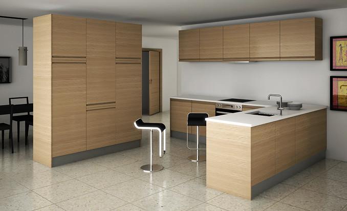 Rumanía Roble - Cocinas.com (SIPO-050) | Los mejores muebles… | Flickr