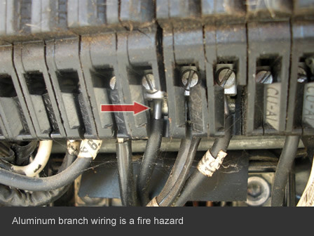 home inspector in san diego finds aluminum wiring fire haz flickr rh flickr com aluminum branch wiring florida aluminum branch circuit wiring was commonly used from