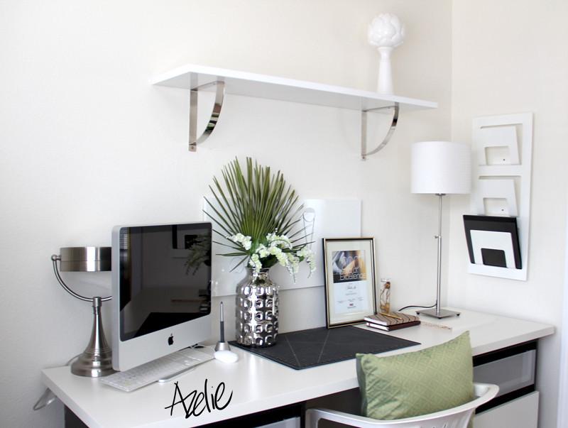 ikea besta office. Ikea Vika Amon \u0026 Besta Office Setup | By Azelie Lai T