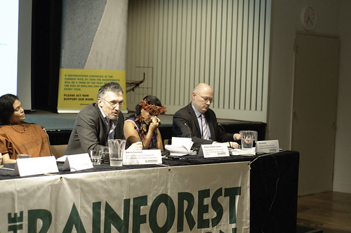 Flooding our Future - Speakers event | by The Rainforest Foundation UK