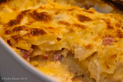 Scalloped Potatoes with Ham & Cheese | by smorge01