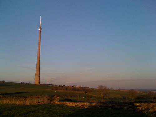 Emley mast in the spring sunshine | by raychelperks