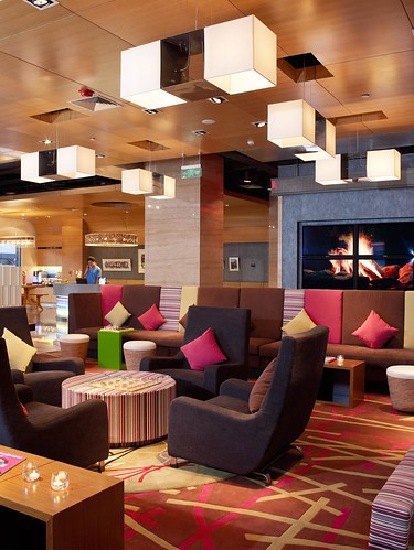 Aloft Beijing, Haidian—Re:mix lobby | by Aloft Hotels and Resorts