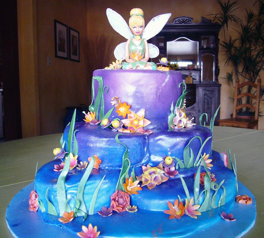 Tinkerbell birthday cake da bombe cake co Da Bombe Cake Company