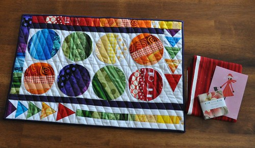 placemat quilt swap received | by vickivictoria