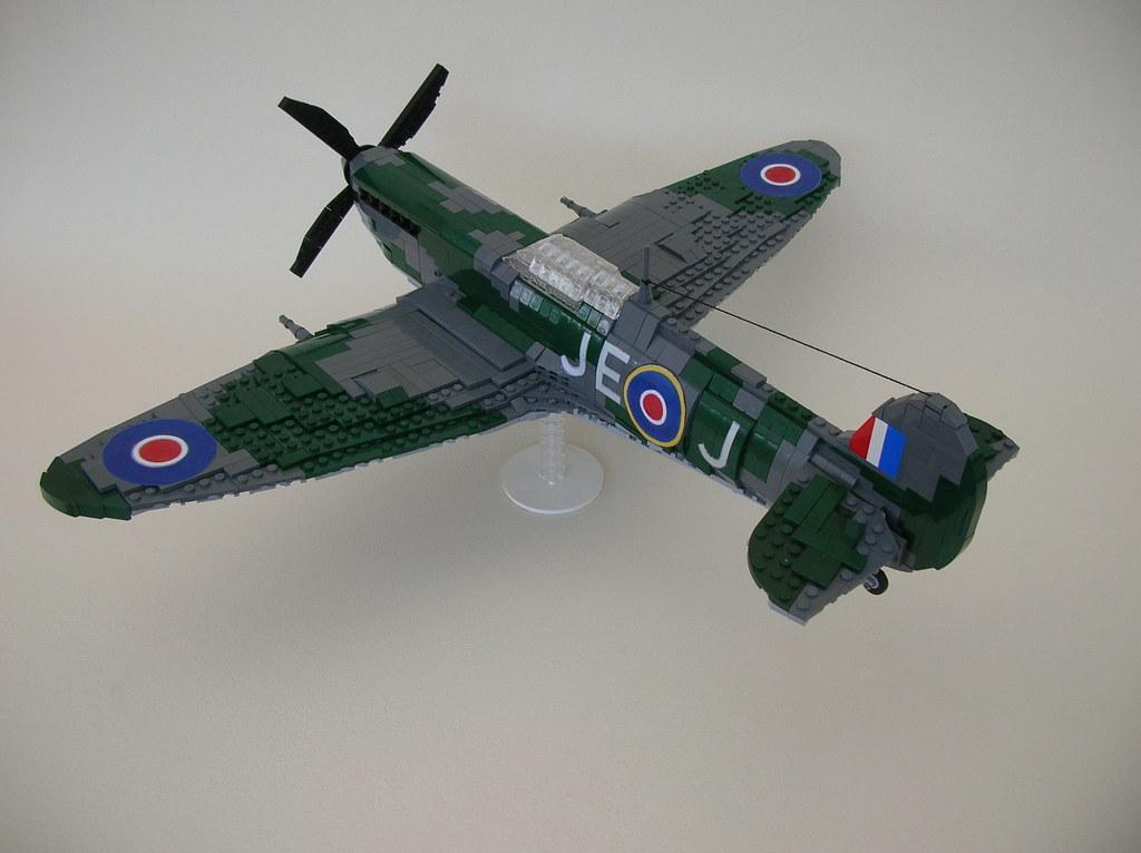spitfire lego. lego spitfire mk ix (aft) | by monster