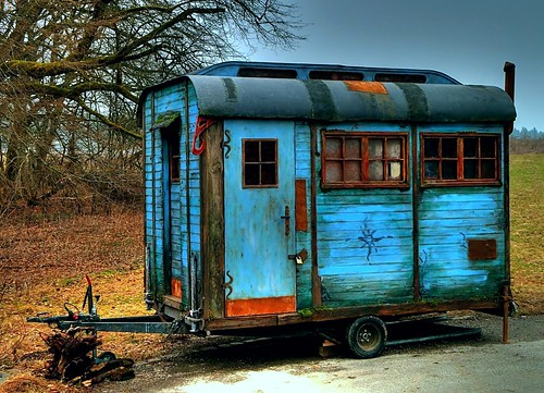 Construction trailer / Bauwagen | by Claude@Munich
