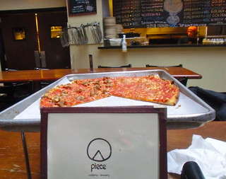 Piece Chicago Menu & Pizza | by Chicago Pizza Tours