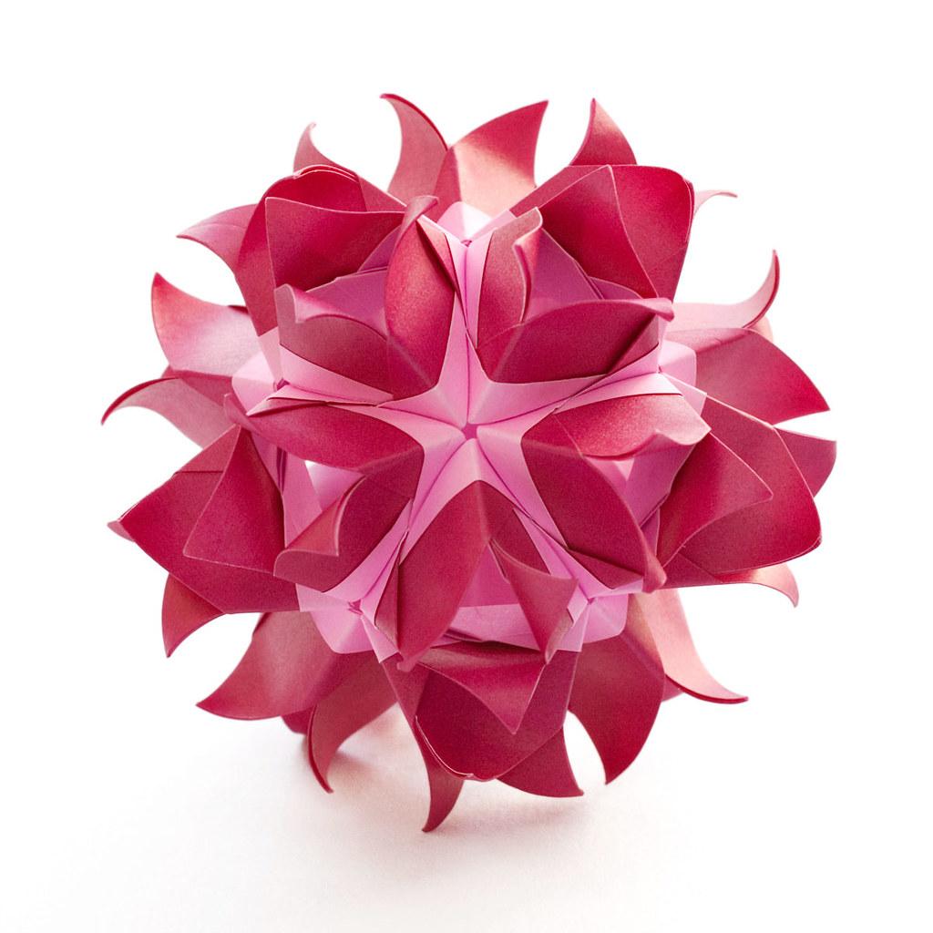 Czarina Flower Kusudama Designer Maria Sinayskaya Parts Flickr