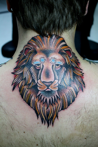 lion | by Myke Chambers Tattoos