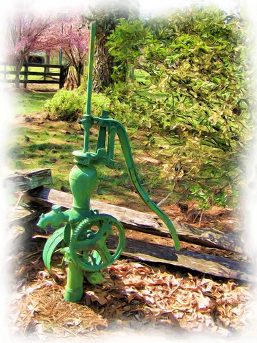 Hand Pump Antique | by gailpiland