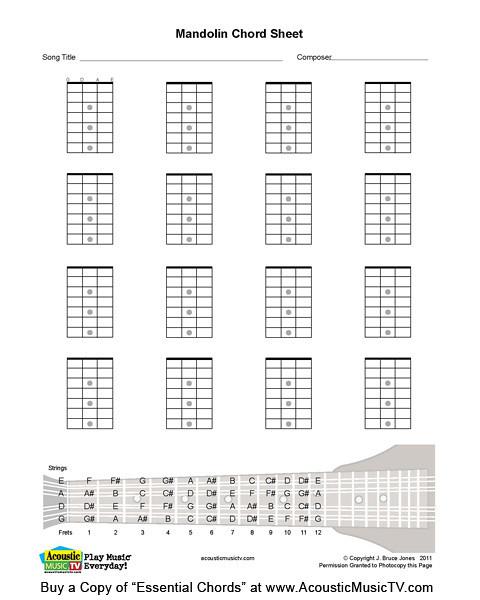 Essential Chords Mandolin Blank Chord Box Blank Mandolin Flickr