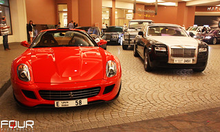 599 GTB Fiorano + Ghost | by 4WheelsofLux Photography