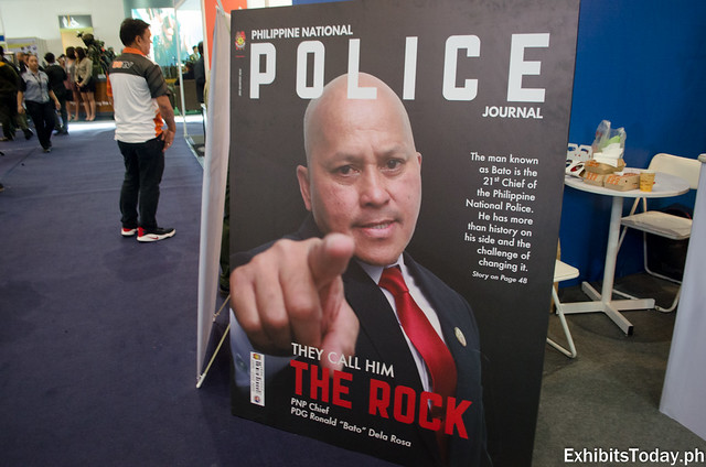 "PNP Chief PDG Ronald ""Bato"" Dela Rosa Magazine Cover"