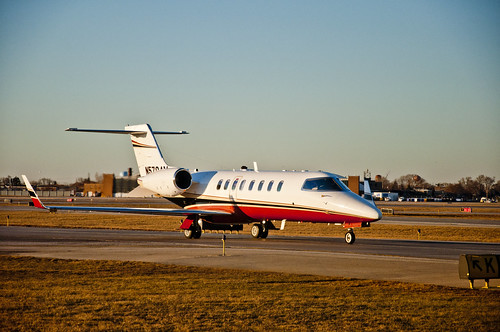Lear Jet at Midway | by vxla
