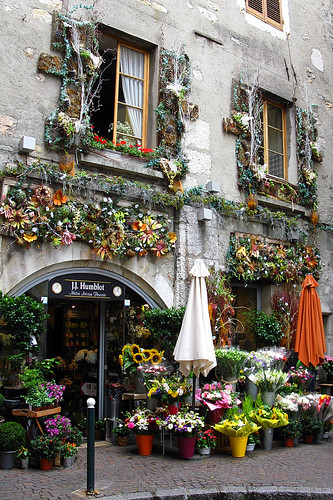 J j humblot floral shop in annecy sofica flickr - Boutique free annecy ...