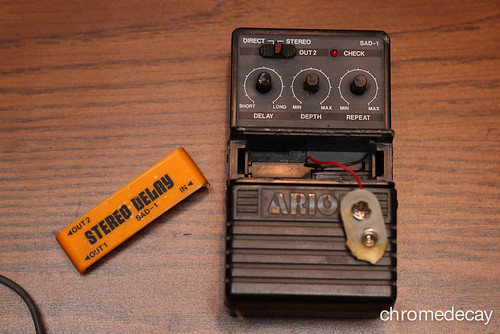 Arion SAD-1 analog delay: before repair | by chromedecay