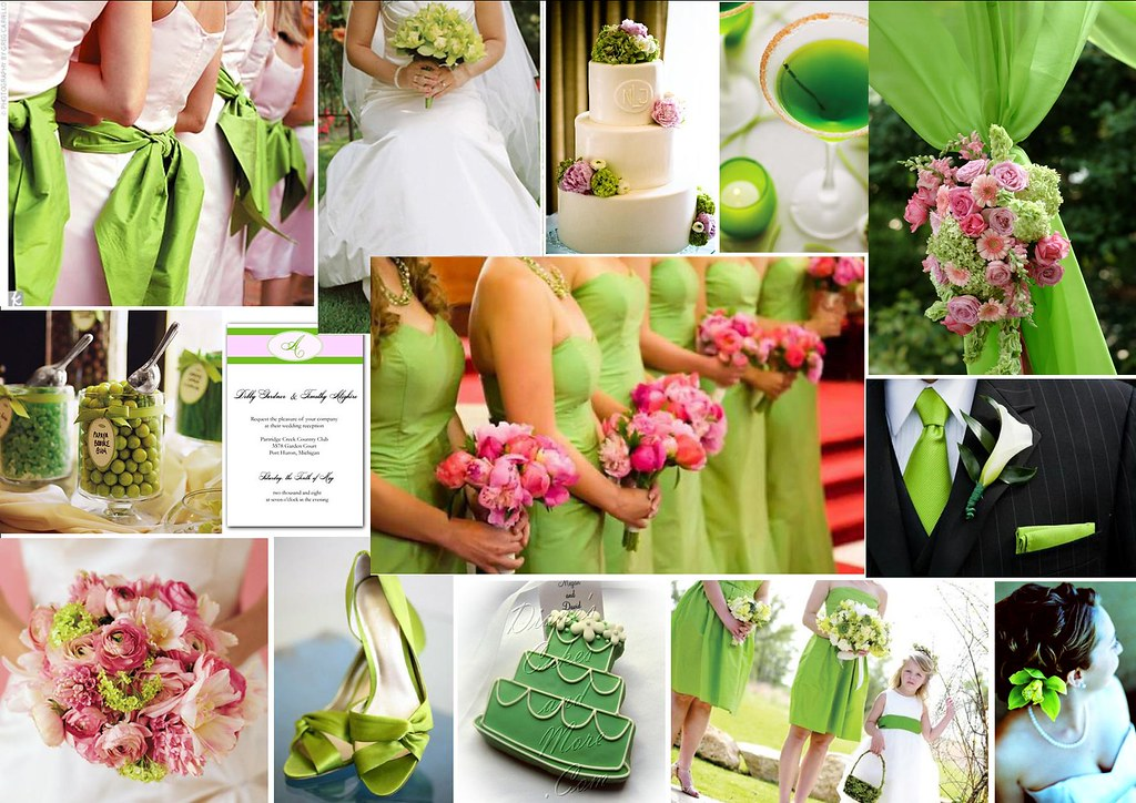 Lime and Pink Wedding Theme | For more stylish & creative we… | Flickr