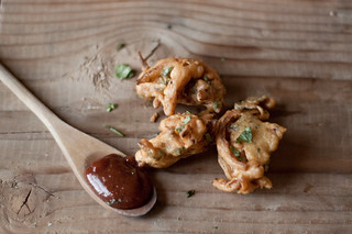 onion pakoras (onion fritters) | by TheSophisticatedGourmet