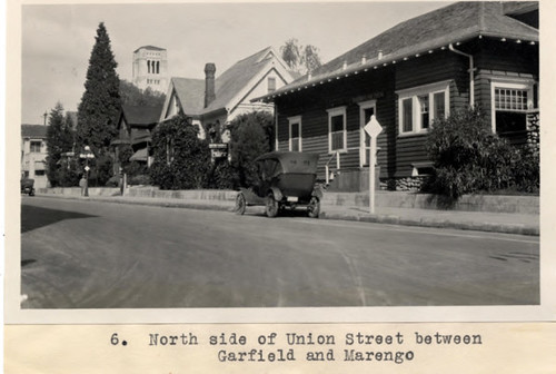 6. North side of Union Street between Garfield and Marengo | by Pasadena Digital History