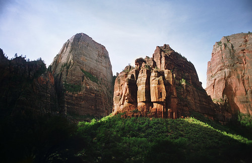 the sentinel, zion national park | by manyfires