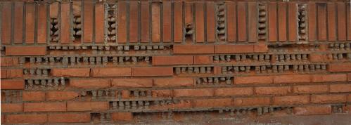 Muro de ladrillo visto 2 daniel sancho flickr - Muros de ladrillo visto ...