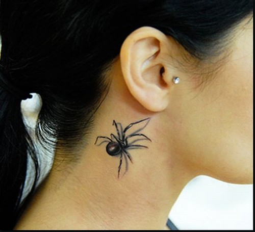 3D-Spider-Tattoo-Design-Picture-8 | by Mj 1996