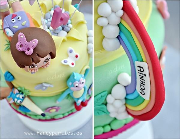 Dora the Explorer Birthday Cake 03 Birthday Cake for the D Flickr