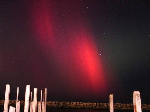 November 2001: Northern Lights over Fishtown | by farlane