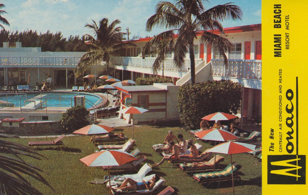 Monaco Luxury Motel - Miami Beach, Florida