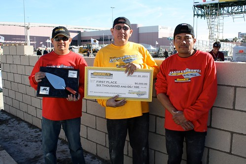 Kris chee 2011 fastest trowel on the block winner flickr for America s best contractors