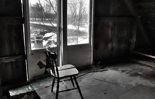 chair by the window | by mickemike