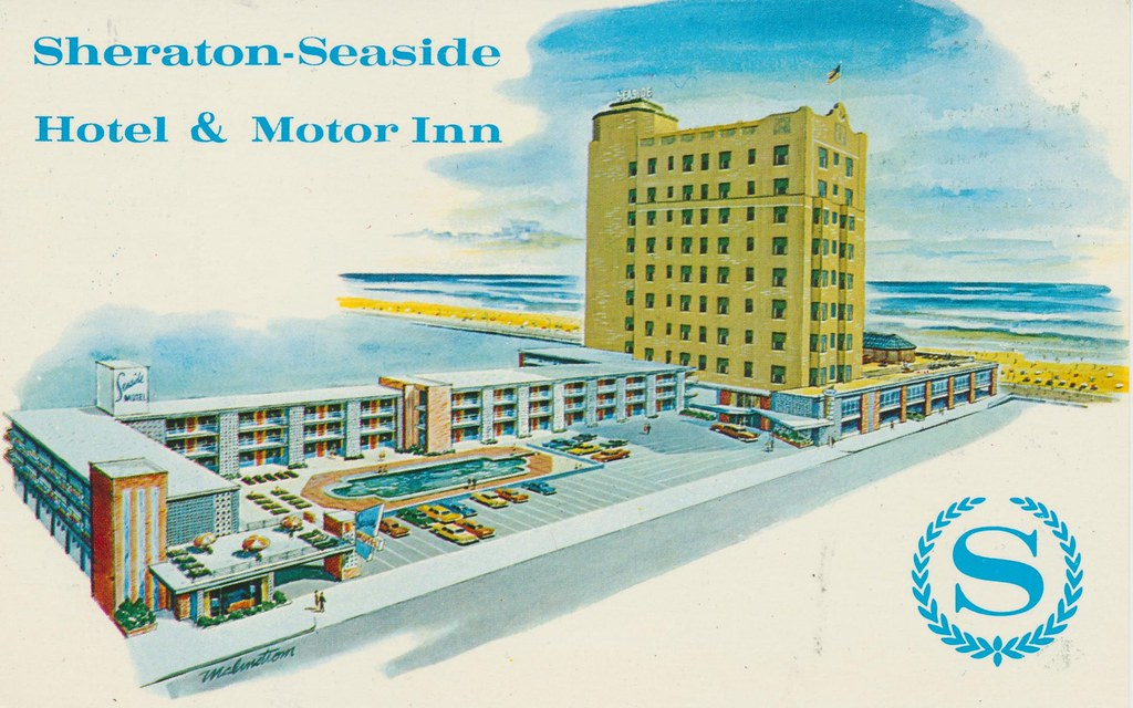 Sheraton-Seaside Hotel & Motor Inn - Atlantic City, New Jersey